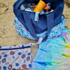Whats in mom's beach bag?